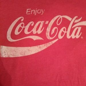 COCA COLA  RED SHIRT